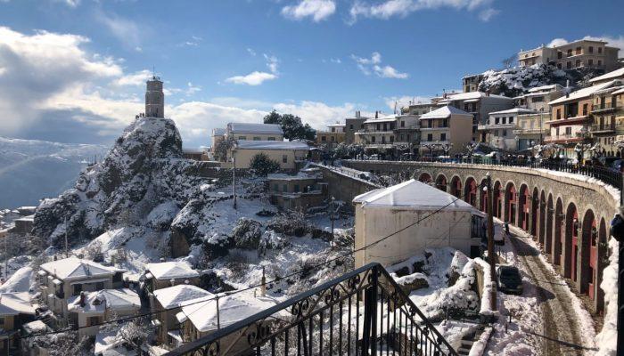 Arachova Snow 1
